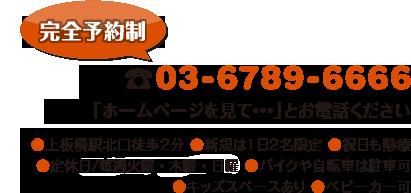 電話:03-6789-6666