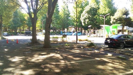 城北公園駐車場1