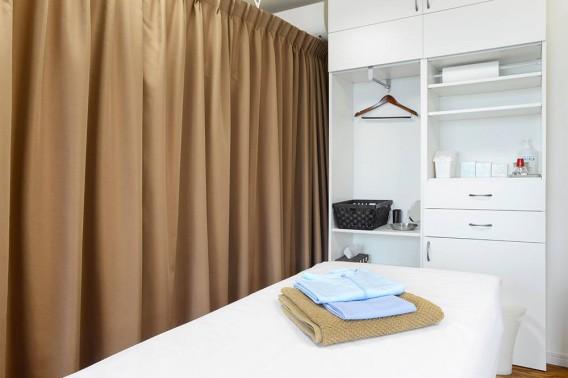 こぼり治療室施術室